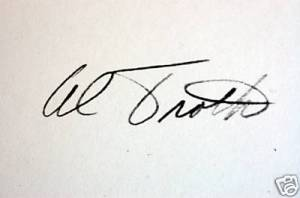 Al Troth Signature