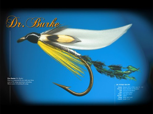 The Dr. Burke Classic Wet from Fly Fusion magazine