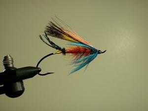 Marmalade Skies Hair wing Salmon Fly